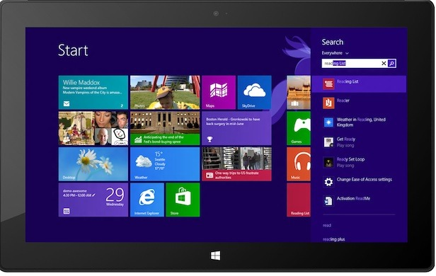 Windows 8.1 With Bing